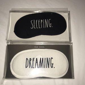 2 Rae Dunn Sleep Mask Sleeping & Dreaming